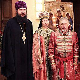 Бойко-Великий с супругой и Русское молоко